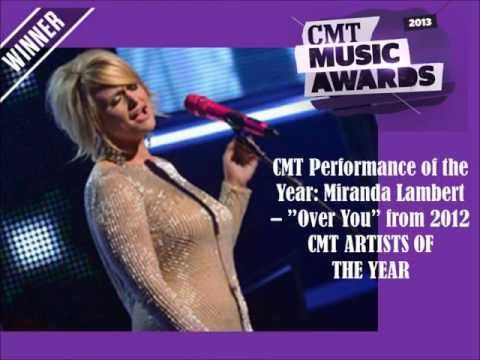 2013 CMT Music Awards — FULL WINNERS LIST Slideshow (Blake Shelton/Miranda Lambert)