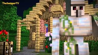 Minecraft Анимация - Железный голем!