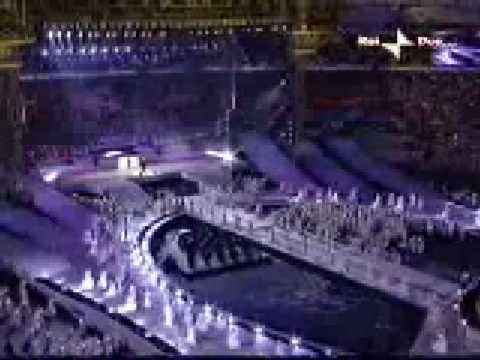 Andrea Bocelli 2006 Torino  Olympics  Closing Ceremony