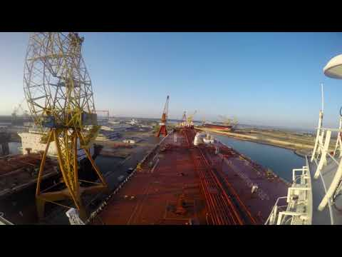 Shuttle Tanker Drydock TimeLapse