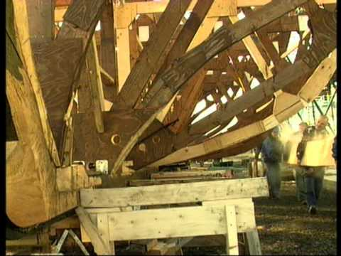 Fotevikens Museum: How to build a copy of a medieval Cog ship