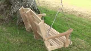 Swing Seat From A Tree.