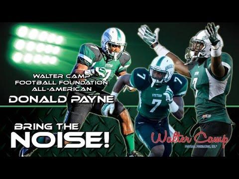 "Donald Payne ""All American"" #7 Stetson Football 2014 Highlights"