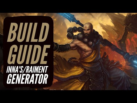 Diablo 3 - Monk Build Guide Inna's/Raiment Generator