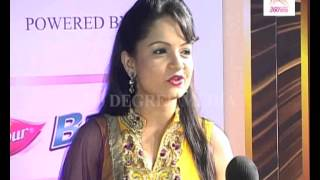 "Giaa Manek (Jeannie Aur Juju) says that she wants to come with ""Salman Khan"" at Golden Carpet"
