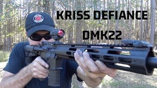 Kriss Defiance DMK22 - Accurate, Reliable, and 10/22 Barrels!