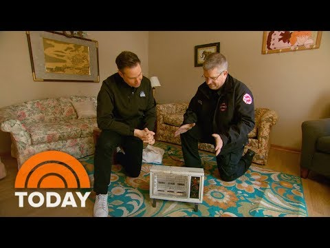 Rossen Reports Update: How To Stay Safe When Using Space Heaters | TODAY