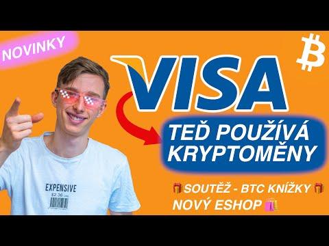VISA využívá kryptoměny 💳 NOVÝ ESHOP - BTC knížky + soutěž 🎁 Bitcoin novinky // KRYPTO Mates