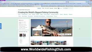 Facebook For Fishing The Worldwide Fishing Club Upgrade, Mobile Version & Custom Profiles