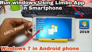 Run Windows 7 in Android phone | install windows 7 in Limbo App for Android | Tech with King