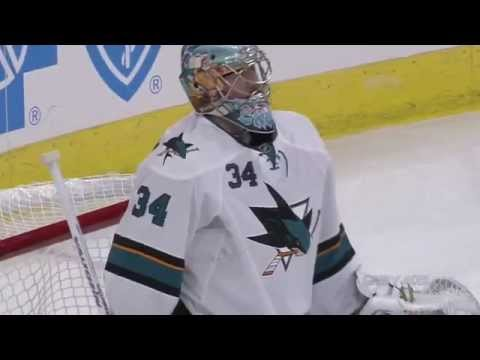 Troy Grosenick Debut - Amazing Saves vs Carolina Hurricanes