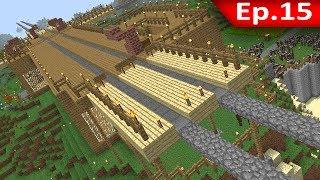 Tackle⁴⁸²⁶ Minecraft (1.7.9) #15 - สถานีรถรางไม่ใช้ราง