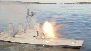 rc boats rocket attack backfires
