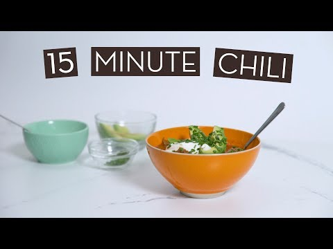Easy 15 Minute Bloat-Free Instant Pot Chili}