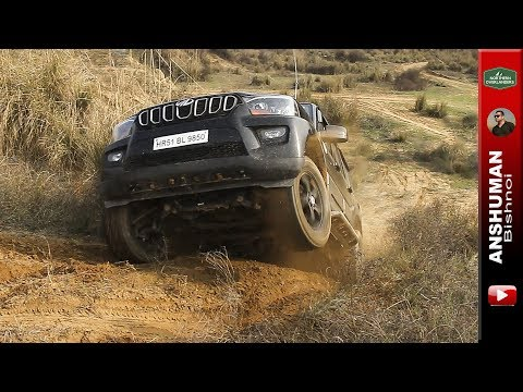 Scorpio 4wd   Fortuner   Pajero Sport   D-Max   Endeavour   Gypsy   Duster AWD: Offroading
