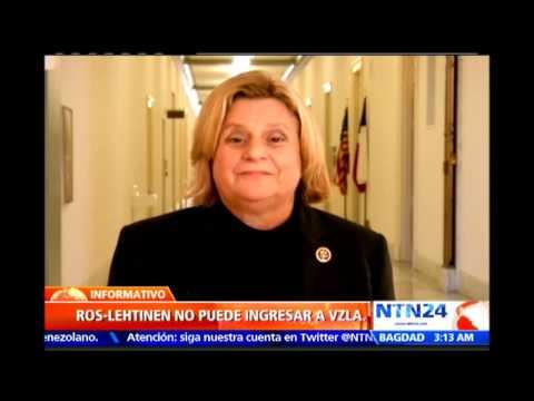 Congresista Ileana Ros-Lehtinen desestimó en NTN24 las acusaciones de Nicolás Maduro en su contra