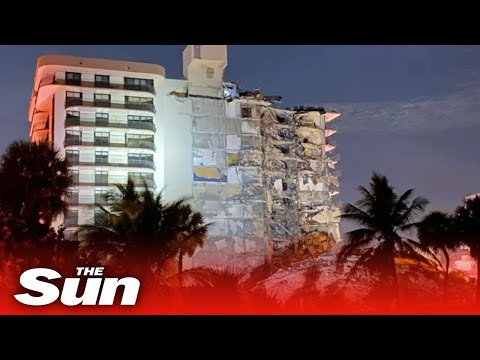 Horror 911 calls from Miami condo collapse are released as death toll hits 97