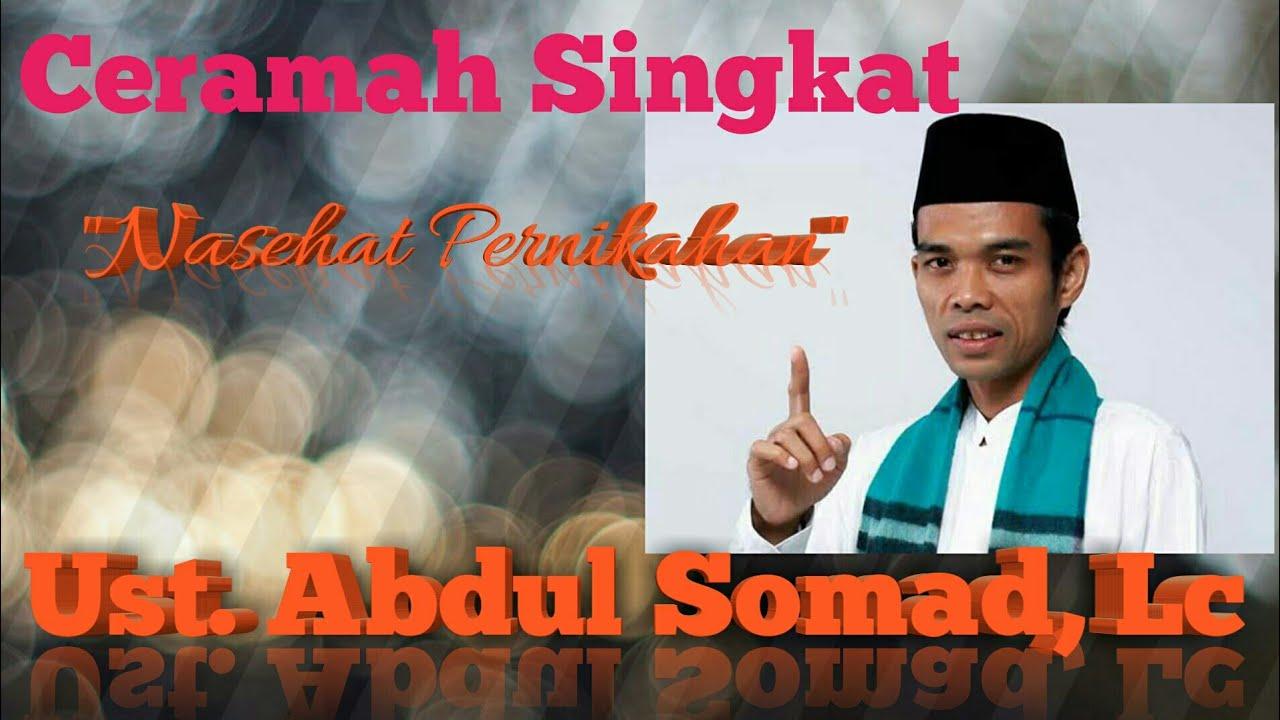 "Ust. Abdul Somad. Lc ""Nasehat Pernikahan"" - YouTube"