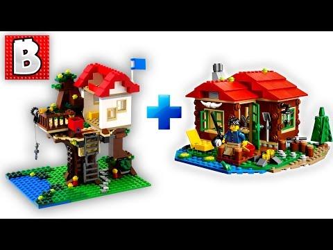 Lego Creator Sets Custom Modular Build!!! | Unbox Build Timelapse Review