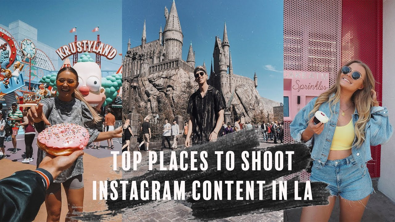 Top Places To Shoot Instagram Content In La