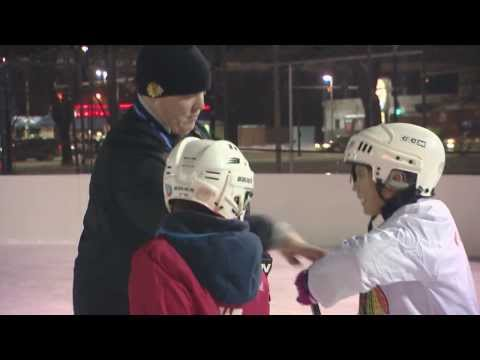 Chicago Park District Feb. 2014: Chicago Blackhawks Hockey Clinics