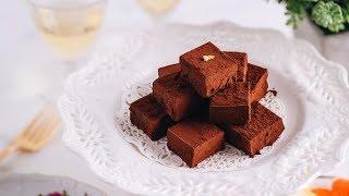 How to Make Nama Chocolate (Royce' Copycat) (Recipe) 生チョコレートの作り方 (レシピ)