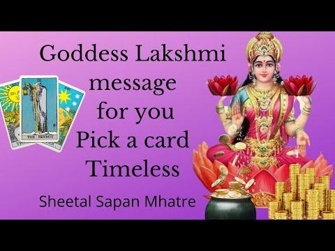 Goddess Lakshmi Message | Pick a card |Timeless