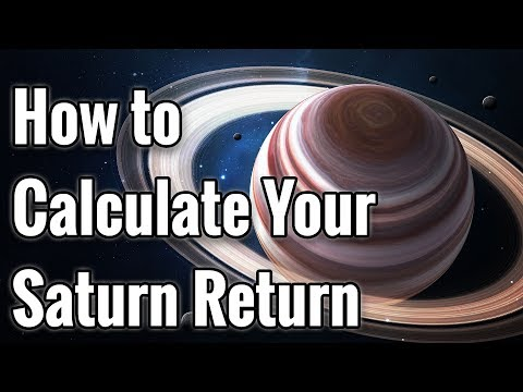 How to Calculate Your Saturn Return