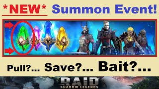 *NEW* Summon Event!.. Pull?.. Save?.. BAIT?!.. ~MYSTERY SHARDS~ Included! [RAID: Shadow Legends]