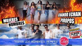 Mujeres vs. Hombres Cuando echan piropos ft. Super Shore 3 a la italina thumbnail