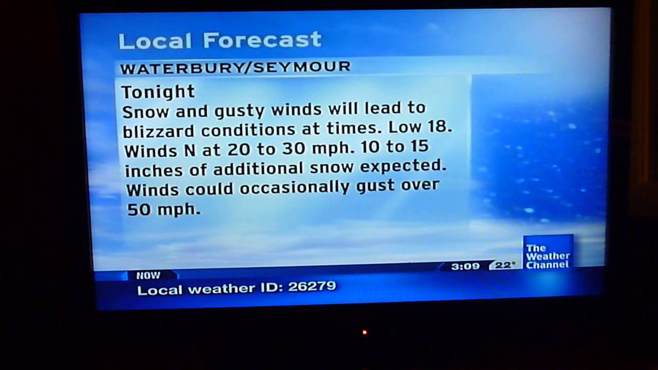 the weather channel local on the 8 u0026 39 s february 9  2013