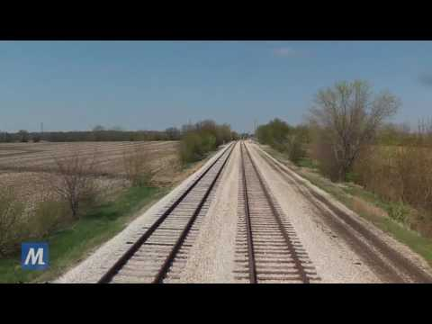 Metra Ride Along - SouthWest Service: Inbound