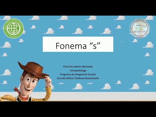 """Discriminación auditiva fonema """"S"""""""