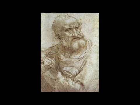 รวมภาพวาดลายเส้นดินสอ โดยศิลปิน ลีโอนาโด ดาวินชี