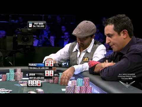 Sensational FINAL TABLE World Poker Tour 5 Diamons.High clas