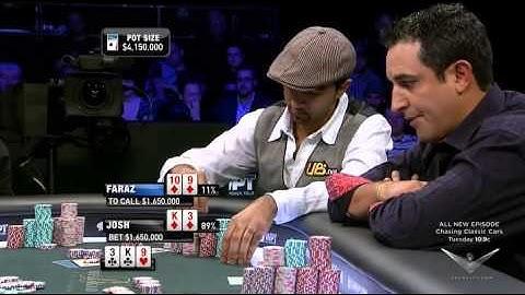 Sensational FINAL TABLE World Poker Tour 5 Diamons.High class Poker.