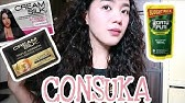 CONSUKA HAIR TREATMENT (parang rebond shookt) - YouTube