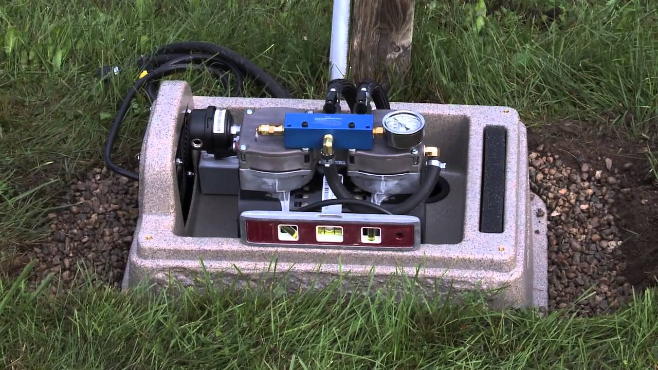 Airmax aeration system installation youtube for Pond pump placement