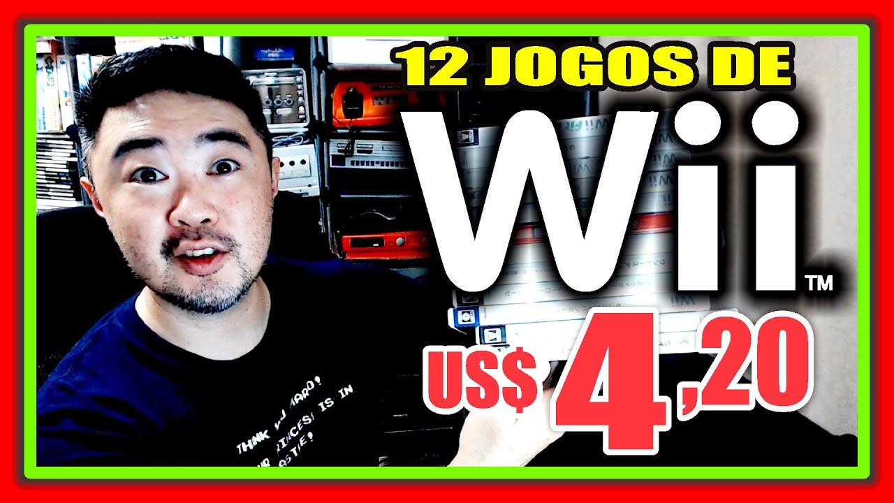 Jogos de Wii por US$4,20 I Quais Jogos vieram ?