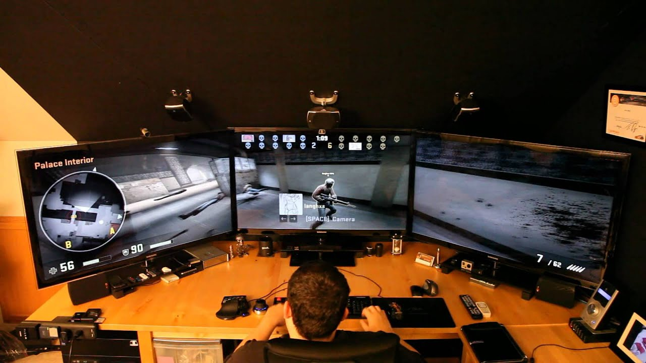 Playing Counter Strike Global Offensive Online In Nvidia