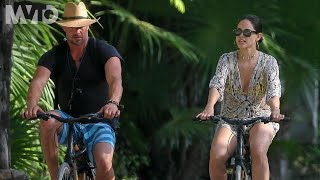 eiza gonzález y josh duhamel se fueron de paseo en bicicleta the mvto