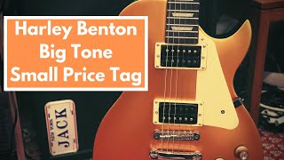 I BOUGHT THE CHEAPEST THOMANN GUITAR - Harley Benton Single Cut: A full in-depth review