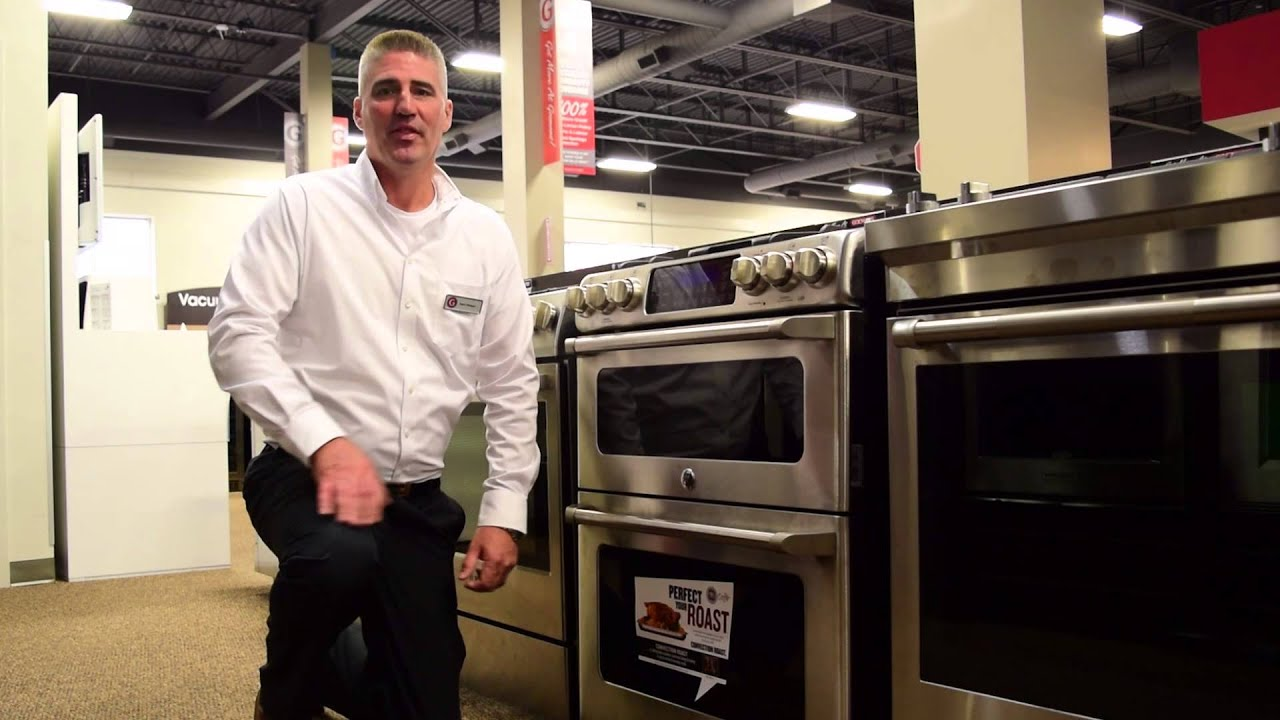 double oven gas range. GE Café 30-Inch Freestanding Double Oven Gas Range (CCGS990SETSS) - Goemans Product Spotlight YouTube