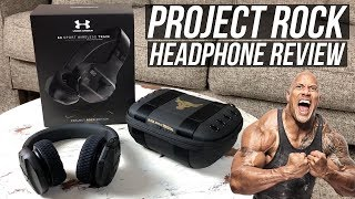 Under Armour Project Rock Headphones Review! | First Look & Unboxing
