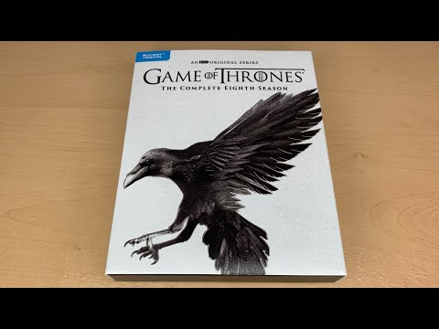 Game Of Thrones: The Complete Eighth Season - Best Buy Exclusive Sigil Blu-ray Unboxing