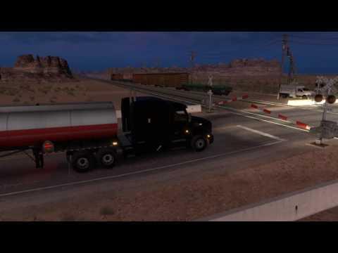 American Truck Simulator - Trucking on Arizona Job 5 World Of Trucks Jobs