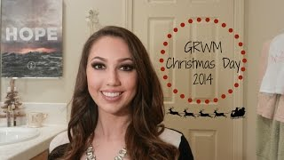 Get Ready with Me! Christmas 2014 - Holiday Makeup, Hair, & Outfit Tutorial Thumbnail