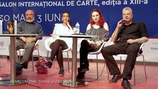 """Oliviu Crâznic despre Teodora Gheorghe (""""Întâmplări despre niciodată"""") - Bookfest 2018"""