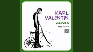 Karl Valentin – Vereinsrede
