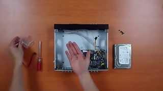 Meriva Security. ¿Cómo instalar y formatear el Disco Duro de un grabador?